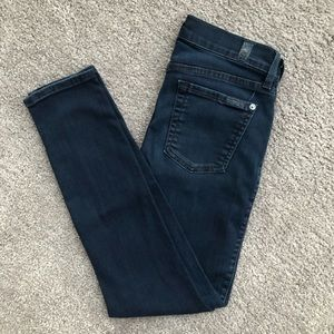 7 For All Mankind The Ankle Skinny SIZE 25